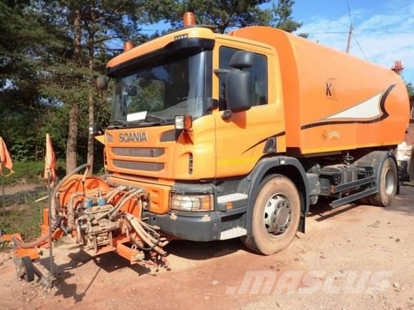Scania P200 +KOBIT K8