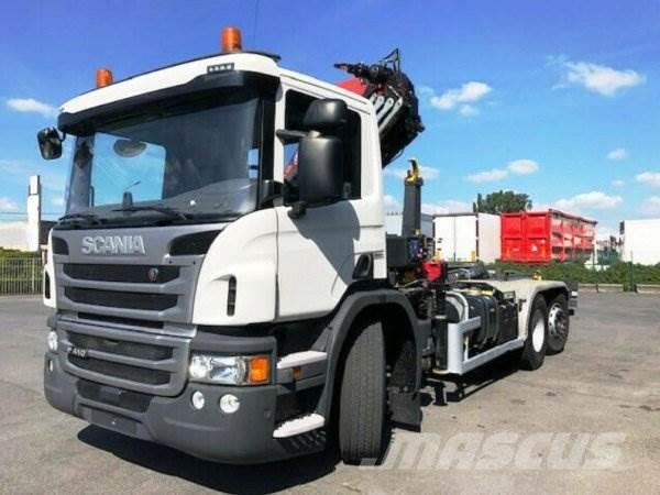 Scania P410L +HMF 1120 K4