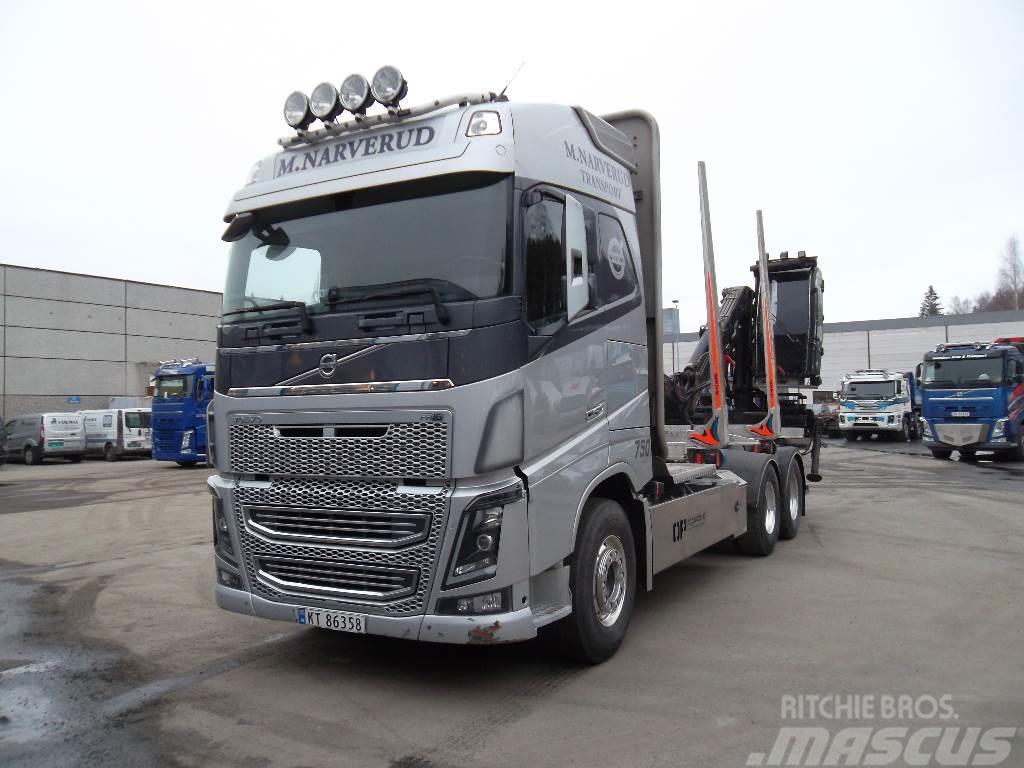 Volvo FH16 750 6x4 - ny girkasse, retarder og clutch!