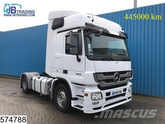 Mercedes-Benz Actros 1844 EURO 5, Airco, Powershift, Fleetboard