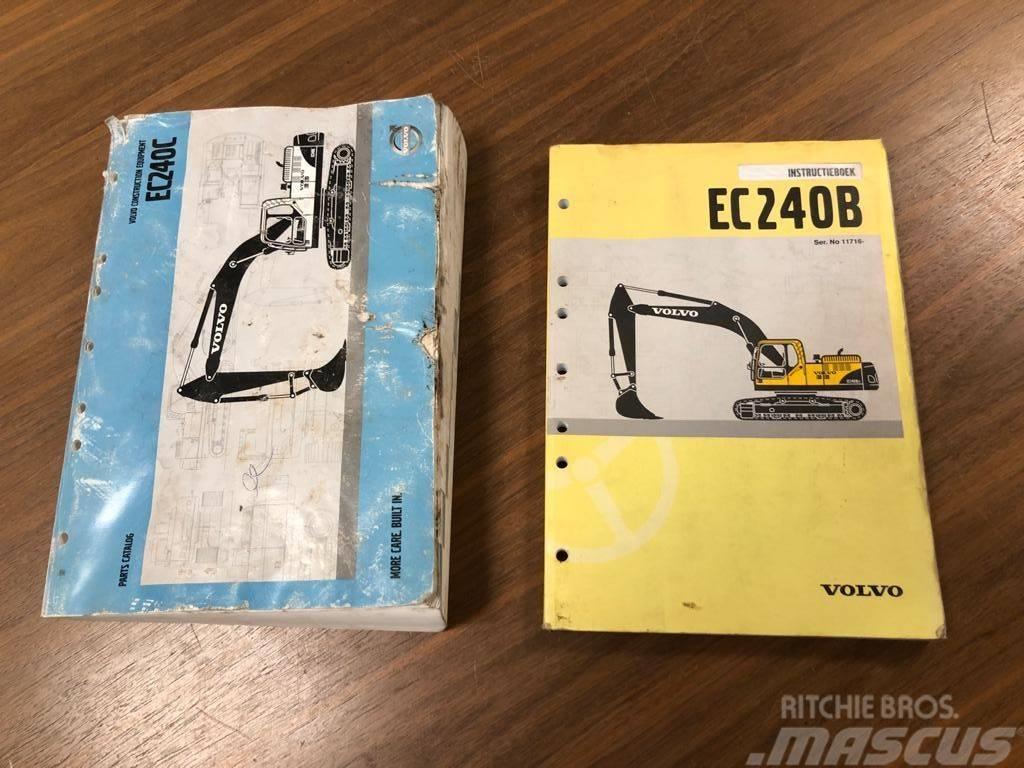 Volvo EC 240 B parts catalog