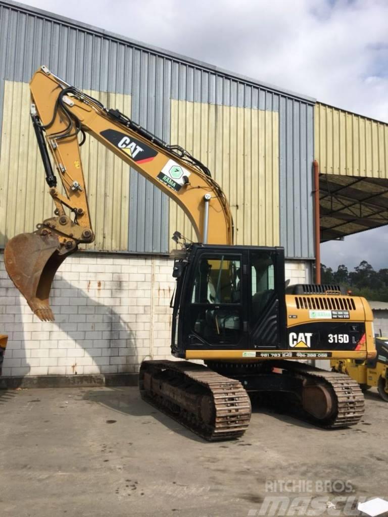 Caterpillar 315 D Price 72500 2011 Crawler Excavators Mascus