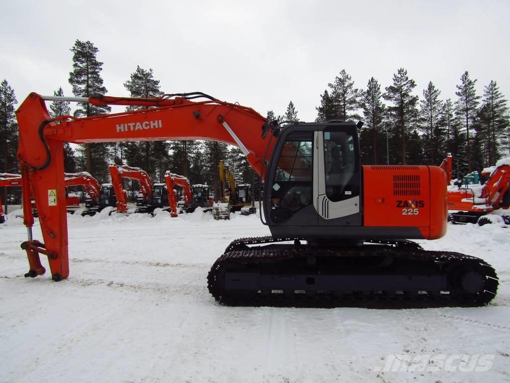 Hitachi MYYTY! SOLD! ZX225USRLC-3