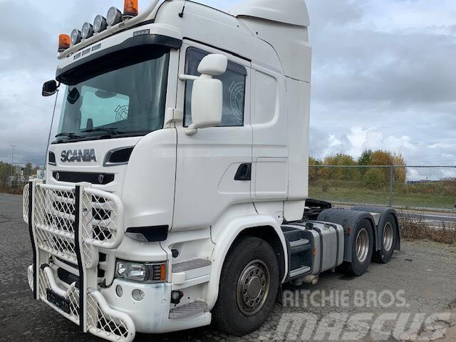 Scania 6x4 V8 580hp