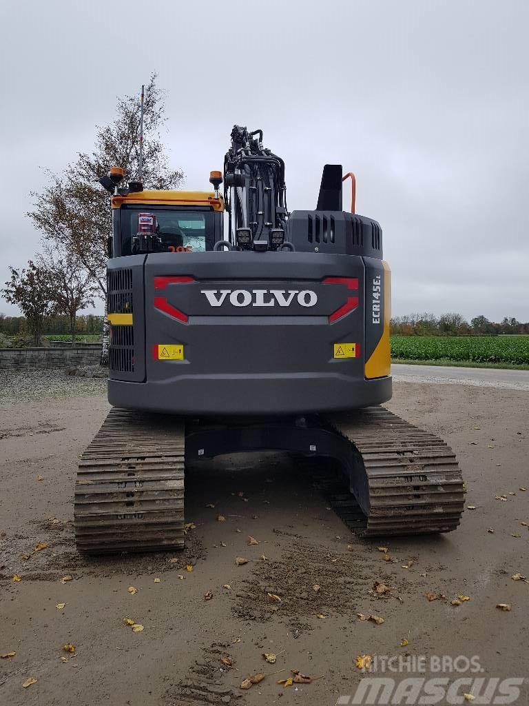 Volvo ECR 145 E, Uthyres