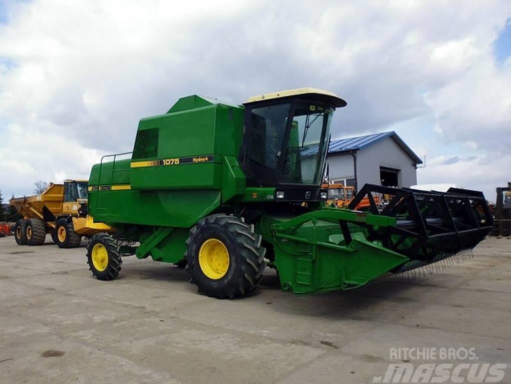 John Deere 1075 Hydro 4, 1984, Combine harvesters ...