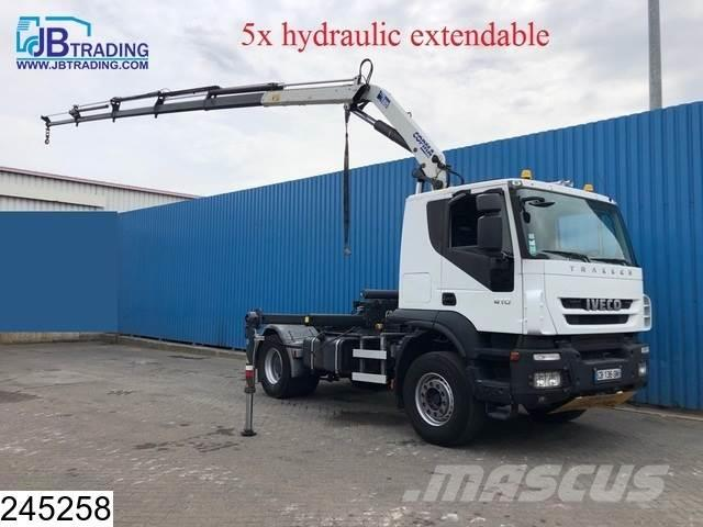 Iveco Stralis 410 AT, EURO 5 EEV, 5 x Hydraulic extendab