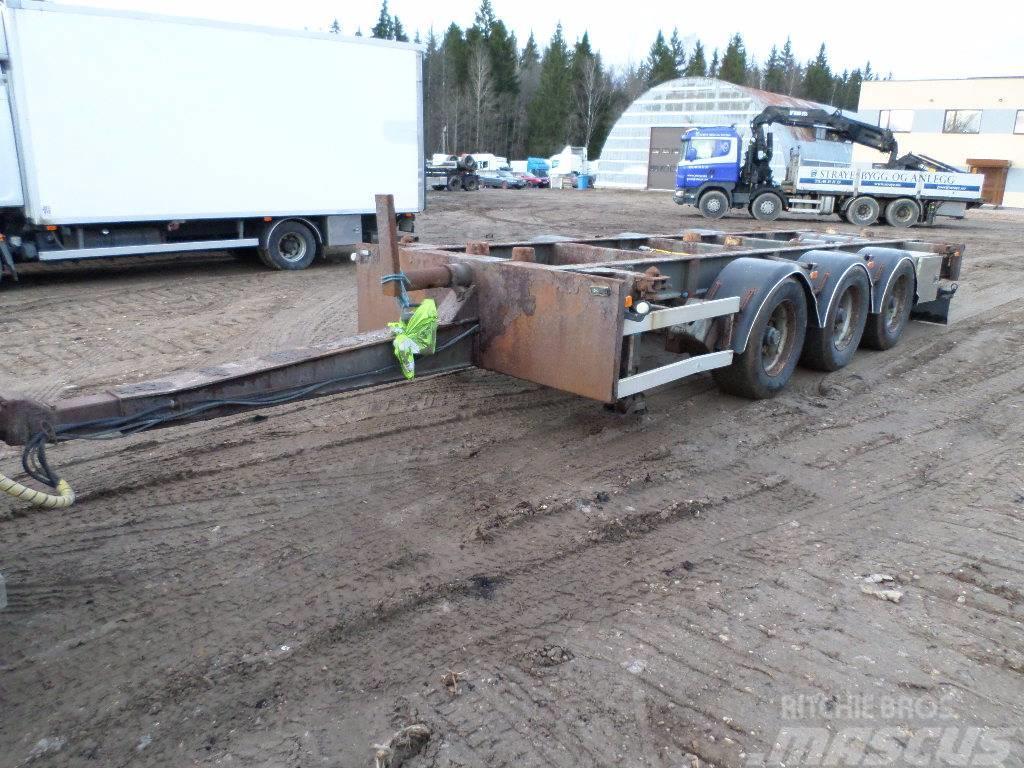 Krone HFR 3 AXEL Containertrailer, BPW Eco plus