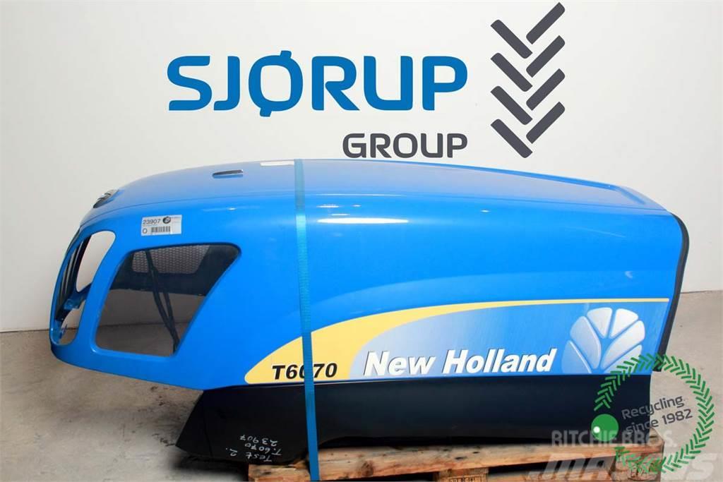 New Holland T6070 Engine Hood