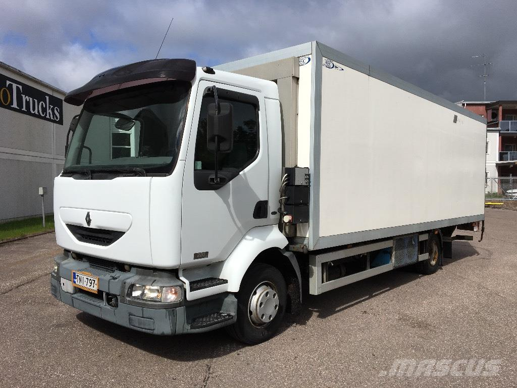 used renault midlum 220 dci reefer trucks year 2005 price 10 485 for sale mascus usa. Black Bedroom Furniture Sets. Home Design Ideas