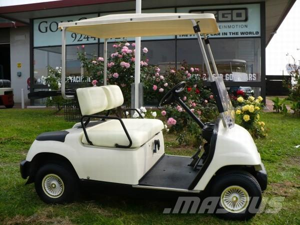 Yamaha G16E Golf Car