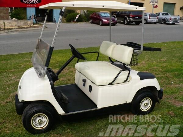 Yamaha g16e golf car til salg pris kr brugte for Yamaha golf cart id