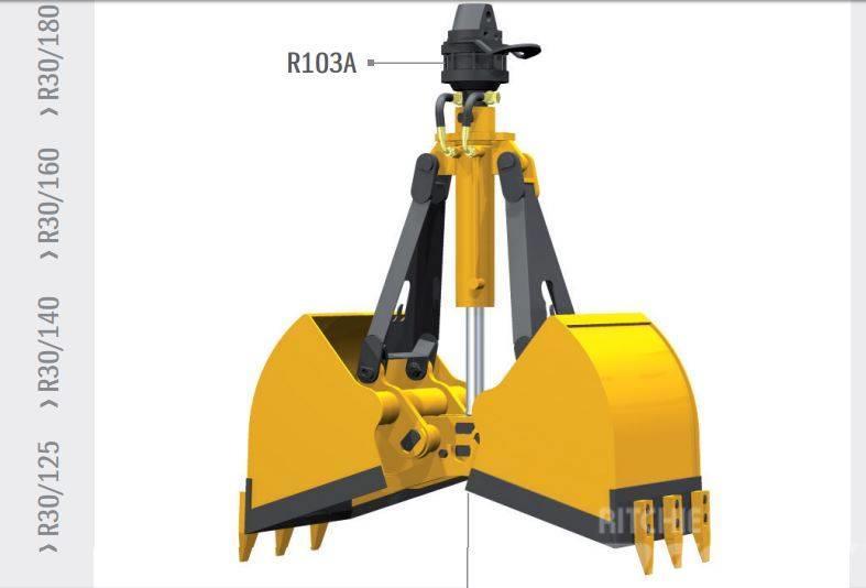 Rozzi R30/110 łyżka piasek zboże HDS sypkie materiały
