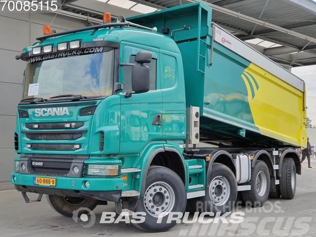 Scania G400 8X4 Retarder Big-Axle Widespread Euro 5 NL-Tr