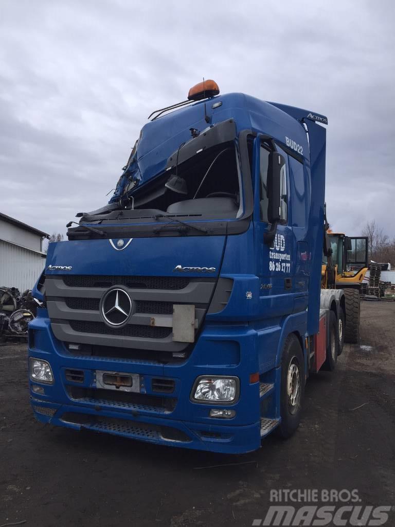 Mercedes-Benz ACTROS 2646 - EURO 5 - DAMAGE