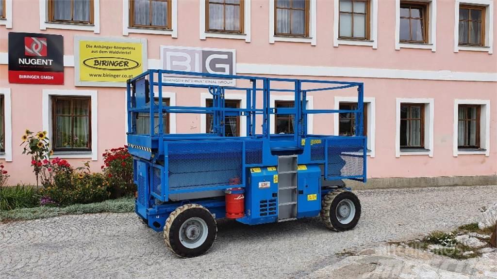 Genie GS3384 RT Scherenarbeitsbühne PREISREDUZIERT