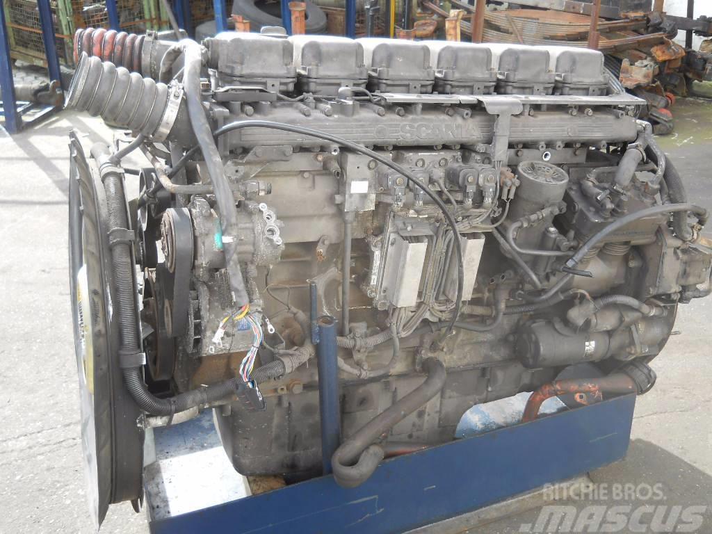 Scania DT1202 / DT 1202, 2002, Motorer