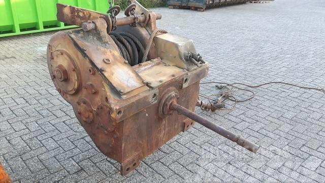 Hyster D6E winch to fit CAT D6C/D/E