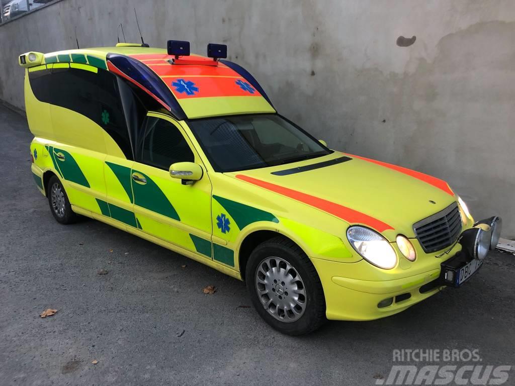 Mercedes-Benz E280 CDI - ambulance/krankenwagen/ambulansia