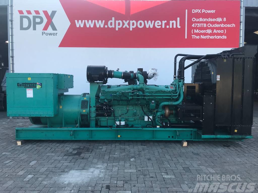 Cummins KTA50 GS8 - 1.675 kVA Generator - DPX-11597