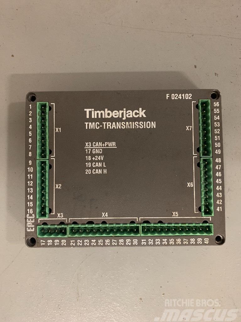 Timberjack Renoverad transmissions modul