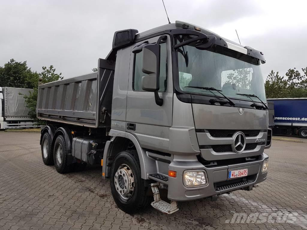 used mercedes benz actros 2648 6x4 mps kipper lkw other. Black Bedroom Furniture Sets. Home Design Ideas