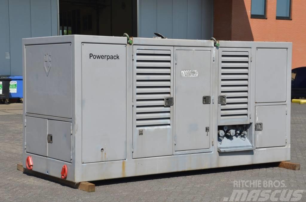 PVE 480 hydraulic powerpack/ generator