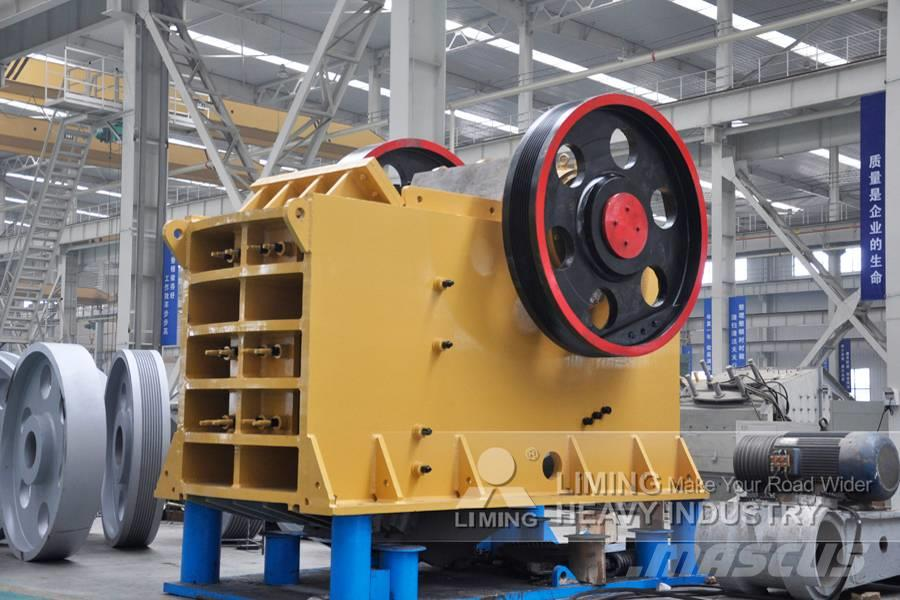 Liming 50-100 TPH Jaw Stone Crusher