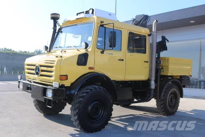 Crane Truck For Sale >> Used Unimog U4000 Crane Trucks Year 2002 Price Us 53 485 For Sale