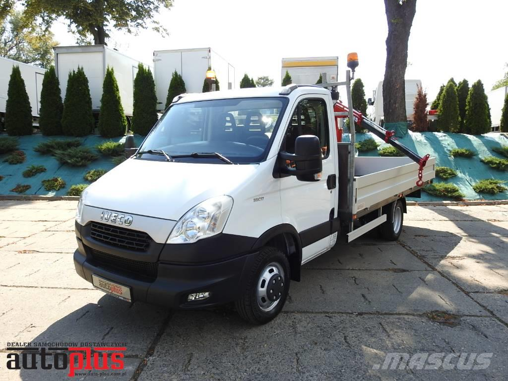 Iveco DAILY 35C17 STAKE BODY HDS FASSI WEBASTO