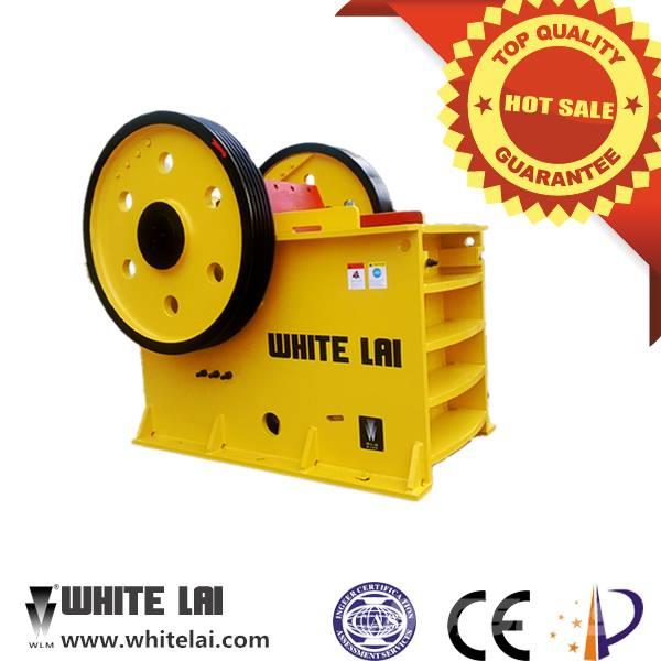 White Lai High Efficiency Stone Rock Jaw Crusher PE-500x750