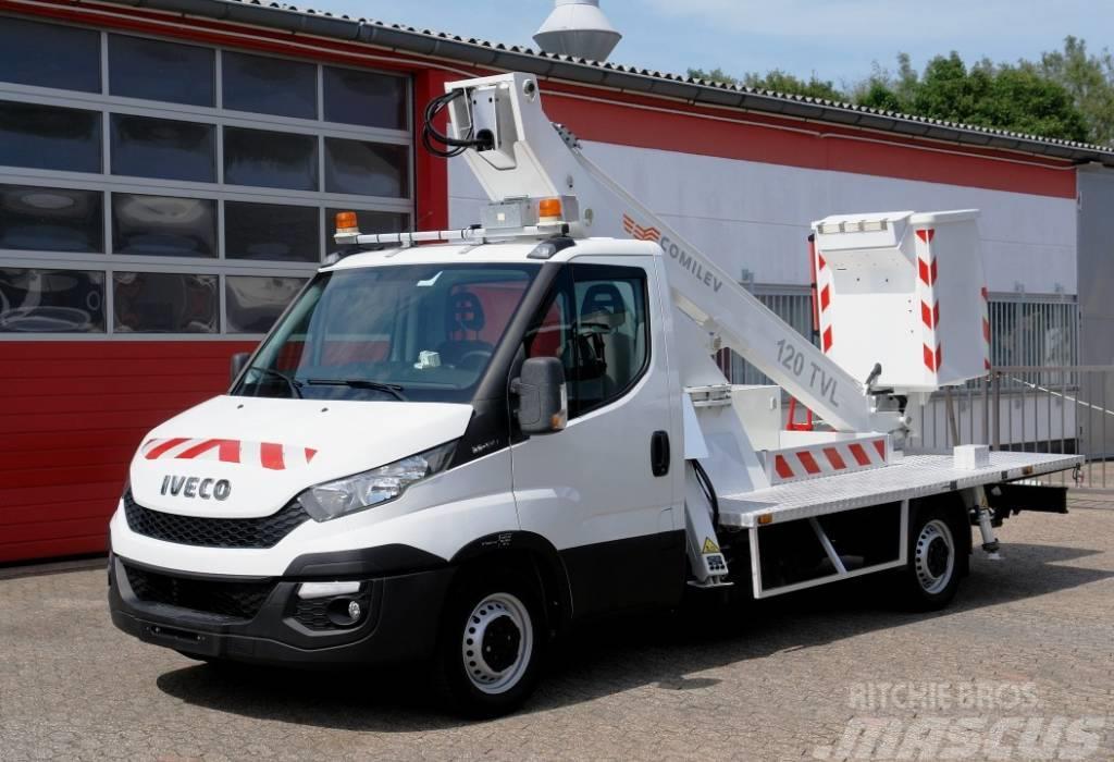 Iveco Daily 35S13 Arbeitsbühne EN120TVL Klima E5 TÜV UVV