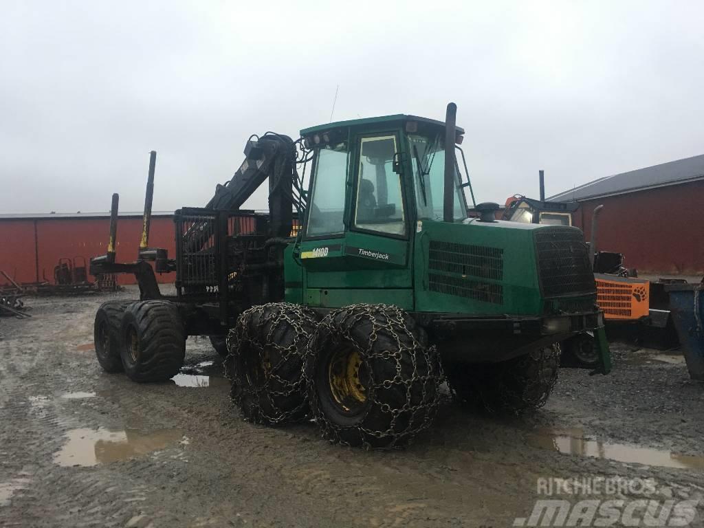 Timberjack 1410D Demonteras