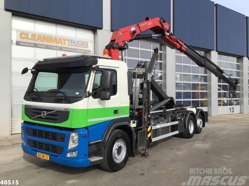 Volvo FM 370 HMF 22 ton/meter laadkraan
