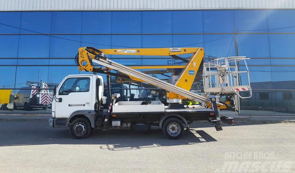 Nissan cabstar oilandsteel 21m versalift-france elevateur