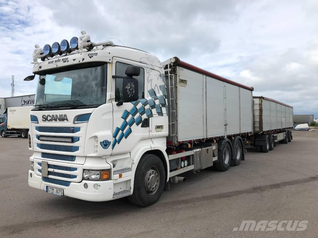Scania R620 6x4    spannmåls ekipage  425 000:-