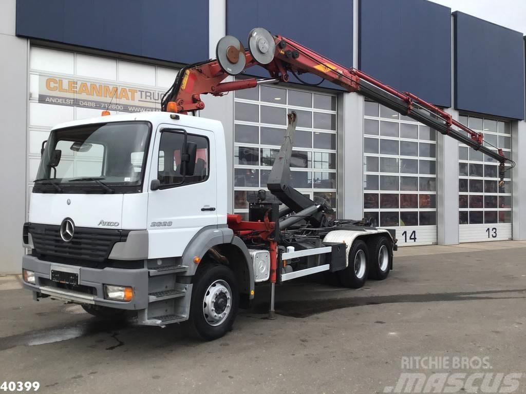 Mercedes-Benz Atego 2628 6x4 Effer 17 ton/meter laadkraan