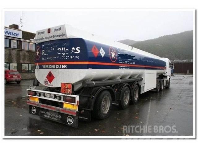 Kässbohrer 50000 Liter Petrol/fuel ADR Neuwertig