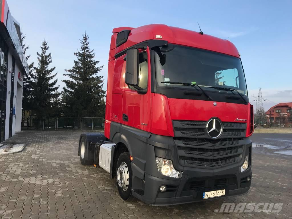 Used Mercedes Benz Actros 1845 Ls X9szt Tractor Units Year