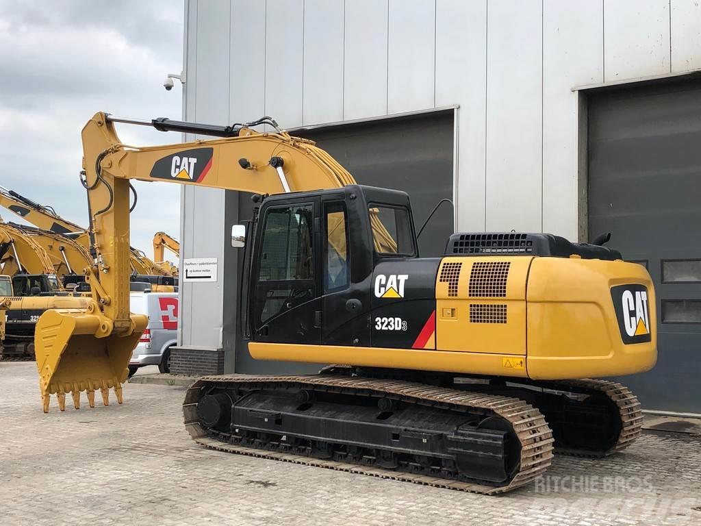 Caterpillar 323D3 Hydraulic Excavator