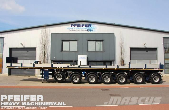 Nooteboom OVB 95-07 69t Load Capacity, Available For Rent.