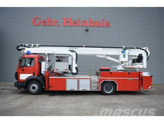 Mercedes-Benz 1834 SK 4x2 Wumag Elevant WTF 300 Firetruck Like N