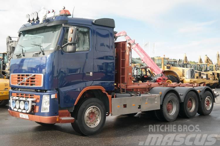 Volvo FH12 500 8X4 HIAB KROK