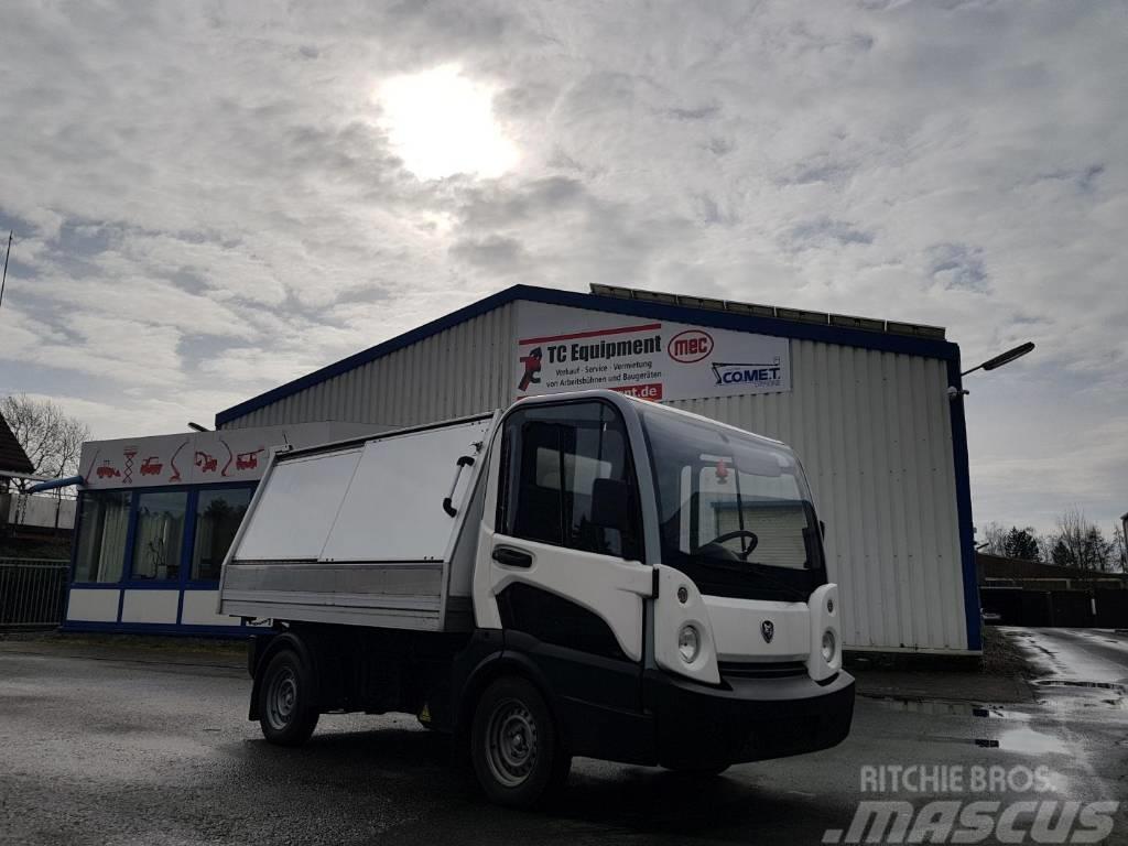 Goupil G5 Hybrid Kastenwagen Elektro Kippfunktion