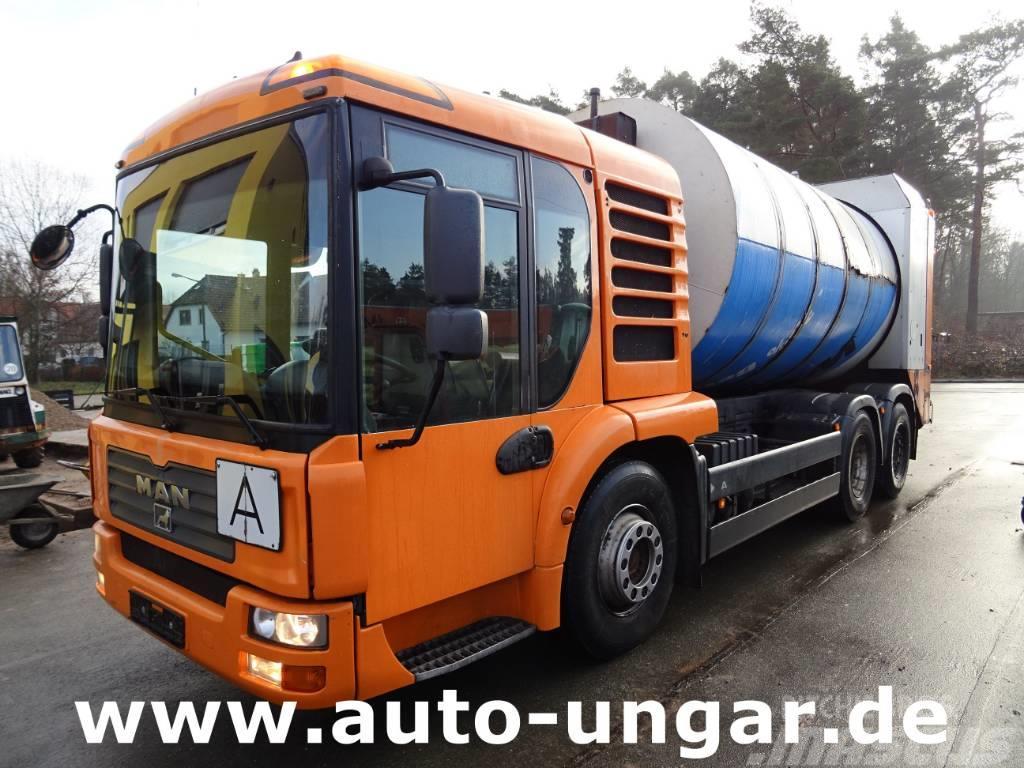 MAN TGA 28.320 6x2-4 Faun Rotopress Zoeller MGHK Euro