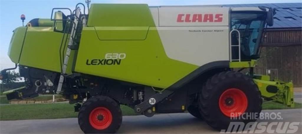 CLAAS lexion 630 montana mercedes-motor