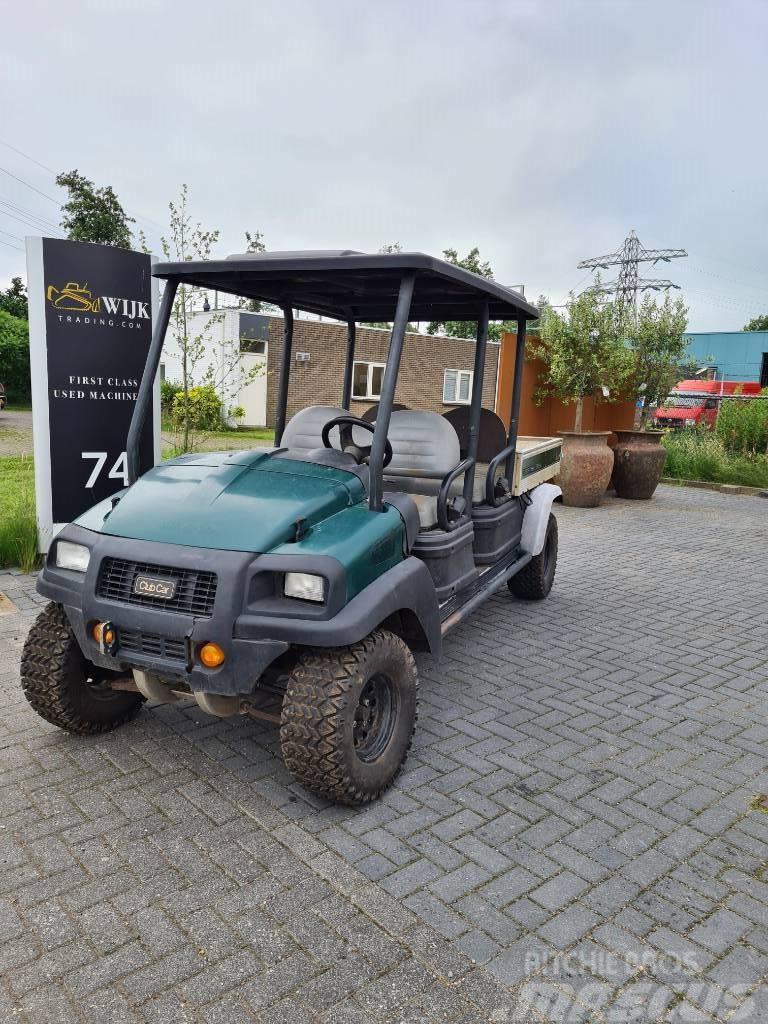 Clubcar carryall 295 diesel 4x4 golfcar/golfkar
