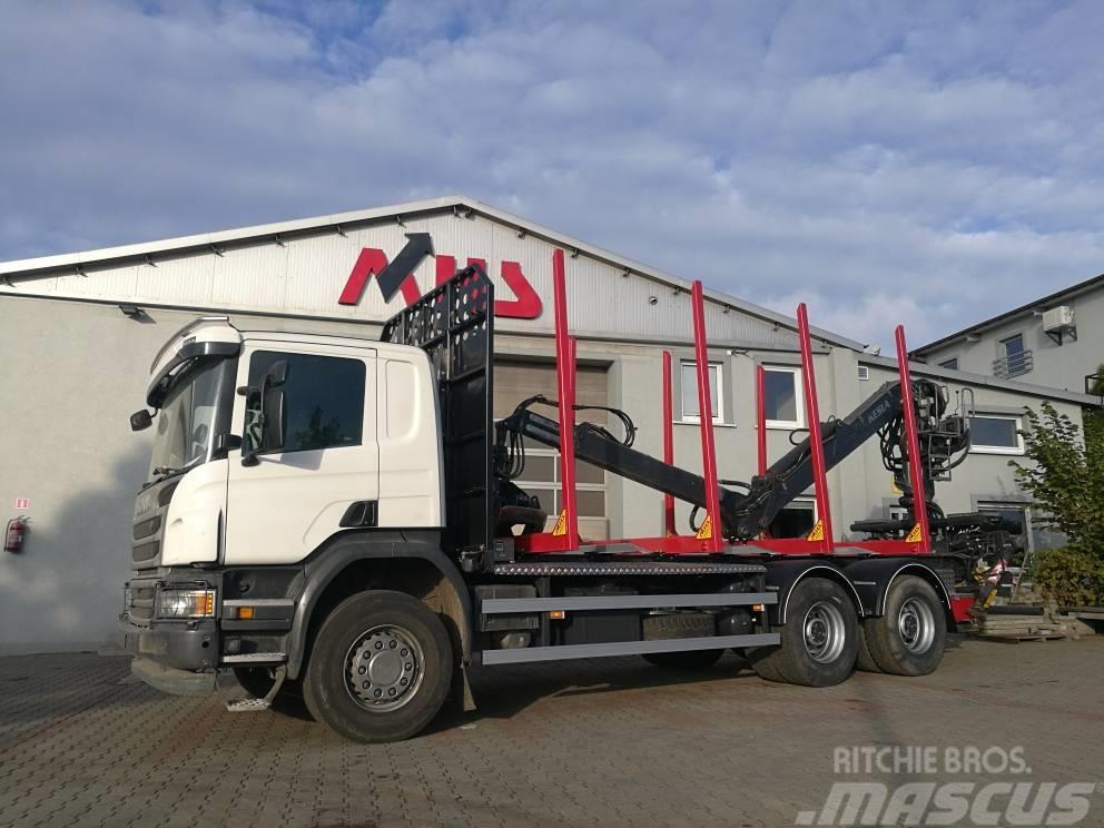 Scania P450 6X4 KESLA 2012