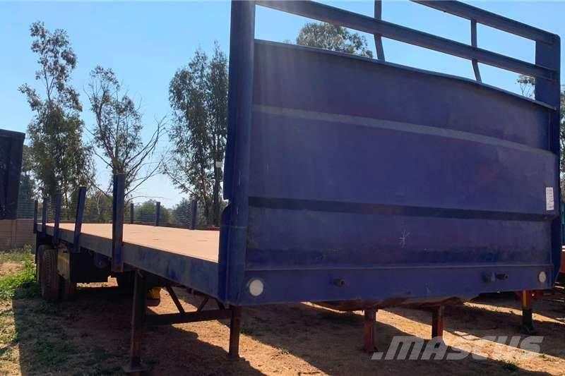 [Other] Hendred FLAT DECK TWO AXLE TRAILER FOR SALE.