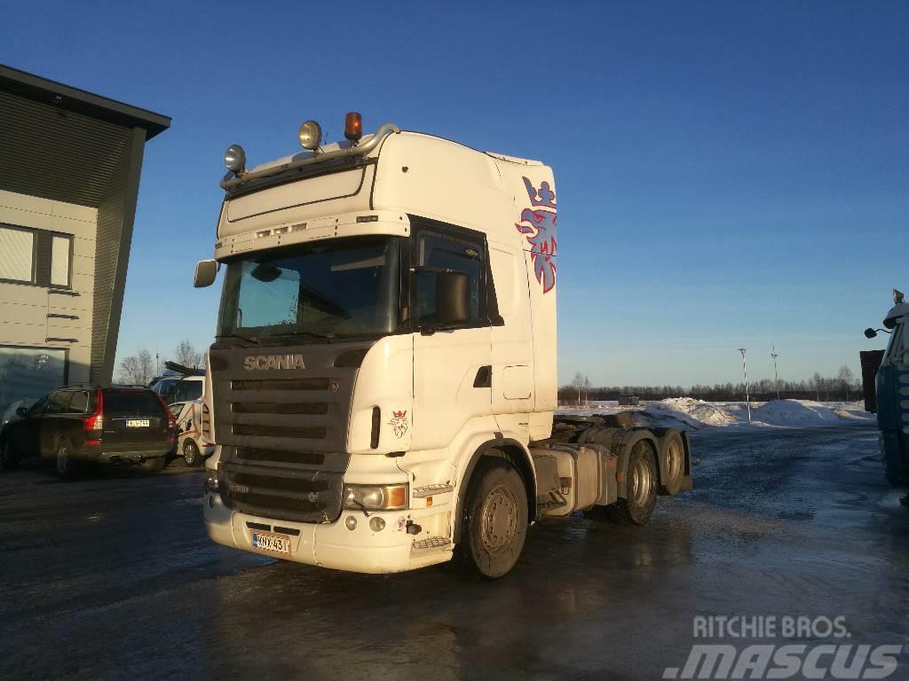 Scania R 560 6x2 Hydrauliikalla